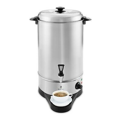 Hot Water Boiler Cooker Catering Urn 10L 1750W Stainless Steel Stainless Steel