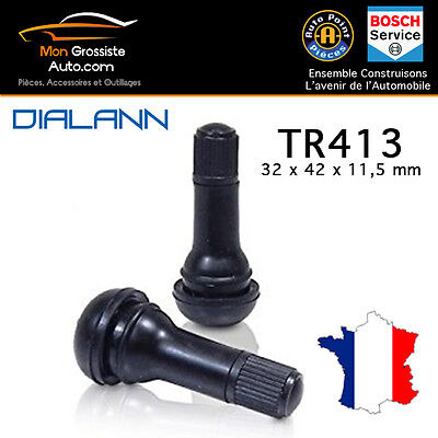 Valve pneumatique Tubeless TR413 Voiture Moto Scooter Quad Karting  Grossiste FR