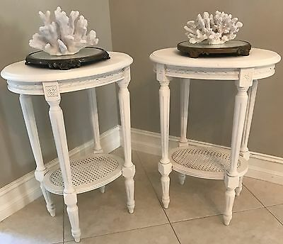 Vintage Petite French Nightstands