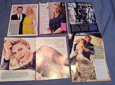 Claire Danes *homeland* - Clippings/cuttings/articles