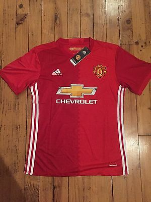 Zlatan Ibrahimovic Jersey Maillot Mantchester United Adidas Taille M