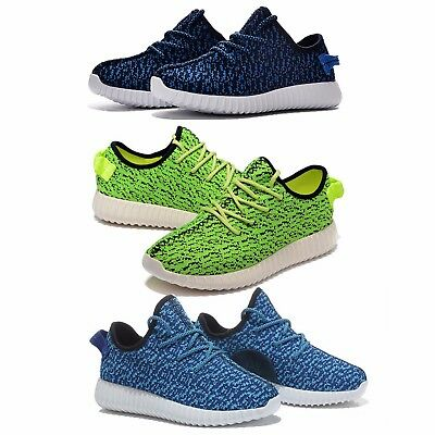 New Womens Textile Gym Fitness Girls Trainers Boost Running Casual Pumps Size