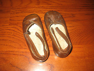 vintage childrens leather shoes size 2