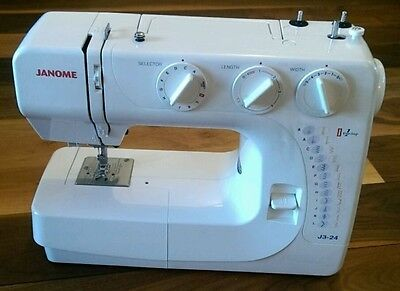 Janome J3-24 Sewing Machine and Hard Case