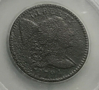 1794 Liberty Cap Large Cent - Corroded - Obv-F & Rev-Fr  Inv#2900