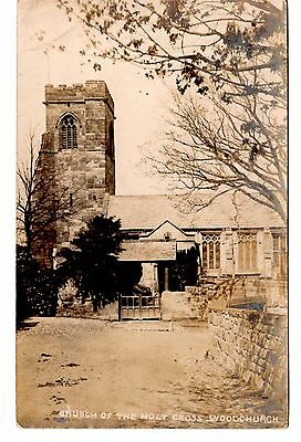 Postcard of Church of The Holy Cross Woodchurch,the Wirrel Cheshire