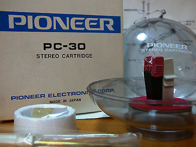PIONEER PC-30 STEREO PHONO CARTRIDGE- JAPAN  New in Box