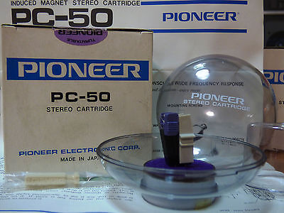 PIONEER PC-50 STEREO PHONO CARTRIDGE- JAPAN  New in Box