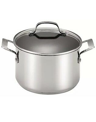 Circulon 77883 Genesis Stainless Steel 5-Quart Covered Dutch Oven