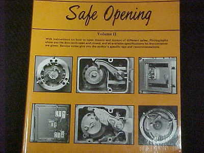 VOL. 2 NEW, Guide to Safe Opening by Dave McOmie, Locksmith,Safe tech.student