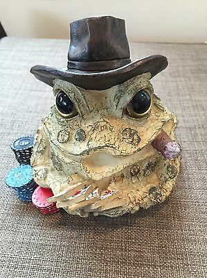Toad Hollow Poker Player Royal Flush Figure