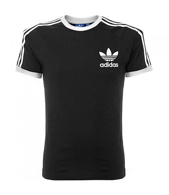 Adidas Clfn Tee T-Shirt Nera Uomo Slim Fit Allenamento Sport Casual New