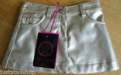 Versace baby girl gold faux leather skirt  6 m BNWT New designer