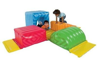 Brand New One Step Ahead My Geo Inflatable Gym Play Forms Blocks