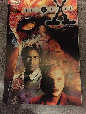 The X Files 2 Topps comics First Printing
