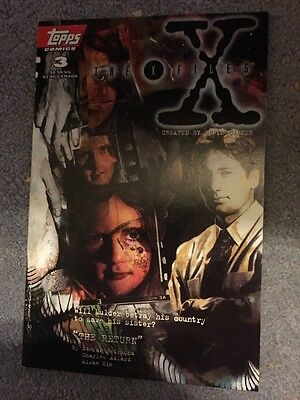 The X Files 3 Topps comics First Printing