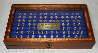 Franklin Mint, Presidents & First Ladies Mini-Silver Collectables In Tlc Case!