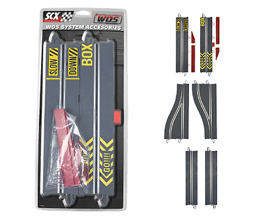 SCX WOS W10207 wos Pit Lane Track NEW Sealed