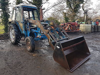 ford 4600 tractor with tanco loader and bucket can deliver No Vat