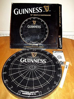 Dartboard Unicorn Guinness (Rare item)