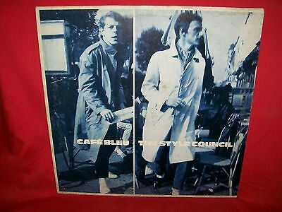 THE STYLE COUNCIL Cafè Bleu LP 1984 EX+ ITALY First Pressing + Inner