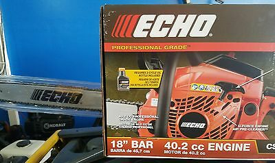 """Echo CS-400 Chain Saw With 18"""" Bar *NEW*FREE-FAST-SHIPPING*NEW*"""