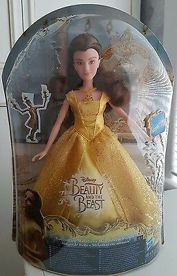 Disney Beauty And The Beast 2017 Live Action : Enchanting Melodies Belle Doll