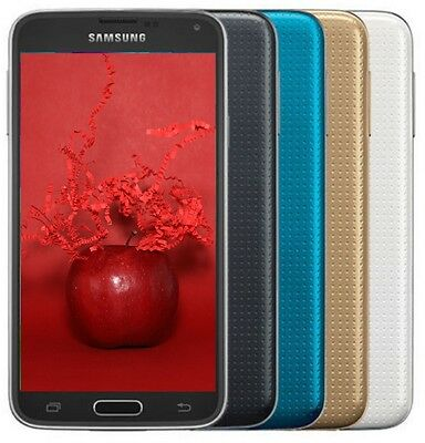 NEW Samsung Galaxy S5 G900V LTE Smartphone (GSM Unlocked + Verizon)