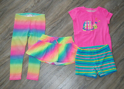 Toddler Girl Mixed Lot Spring/Summer Clothes Size 3T...Jumping Beans...RAINBOWS