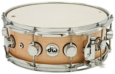 "DW SuperSolid Snare Maple 14""x5.5"""