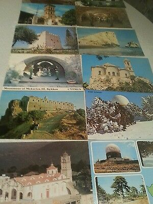Old postcards from Cyprus x12