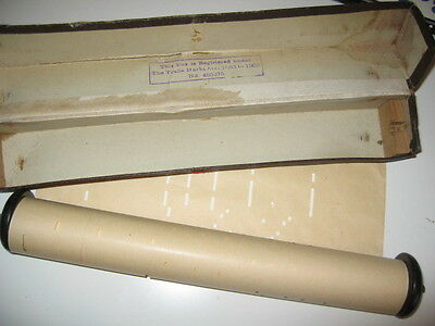 Collectables Old Pianola Paper Roll
