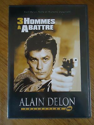 Dvd Alain Delon *  3 Hommes A Abattre *  Jacques Deray Collection Hachette Pathe