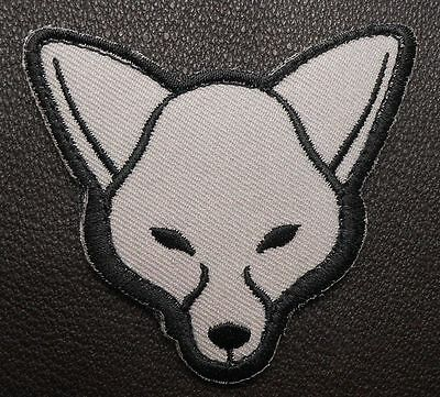 Fox Head Usa Army Morale Tactical Isaf Combat Military Badge Swat Hook Patch