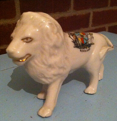 Clays Crested China Standing Lion