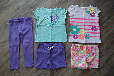 Toddler Girls Mixed Lot of Spring/Summer Clothes by Jumping Beans Sz 3T