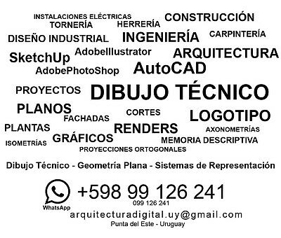 Professional Service Technical Drawing, Geometry, Graphic Representation