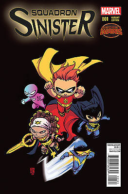 Squadron Sinister #1 Young Variant 2016 Marvel Comics