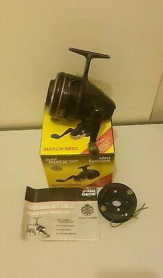 Abu garcia gold max 507 ultra cast closed face reel 1 of 2