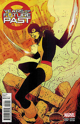Years Of Future Past #2 Norton 1:25 Variant 2016 Marvel Comics