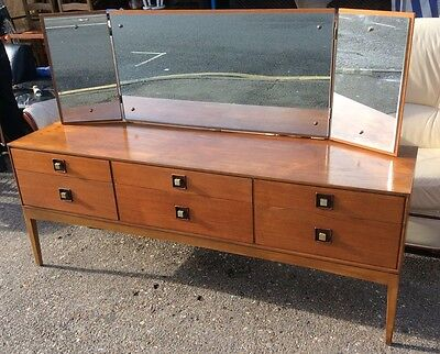 Mid Century Retro Danish Style Teak Dressing Table,Sideboard By William Lawrence