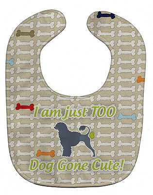 Carolines Treasures  BB6573BIB Portuguese Water Dog Dog Gone Cute Baby Bib