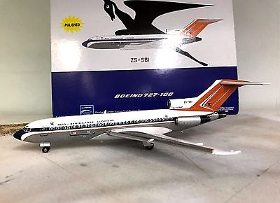 InFlight 1:200 Boeing 727-100 South African Airways ZS-SBI (polished)
