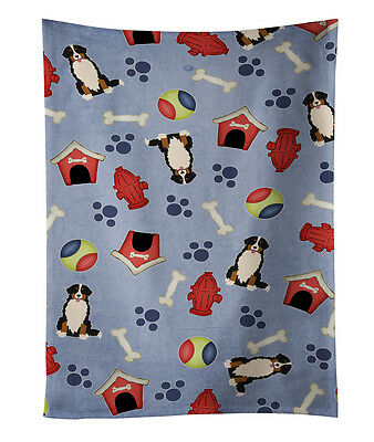 Dog House Collection Bernese Mountain Dog Kitchen Towel