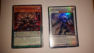 Yu-Gi-Oh! D/D/D 40 CARD DECK! INCLUDING EXTRA DECK! *Extra cards included!