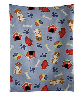 Dog House Collection Brittany Spaniel Kitchen Towel