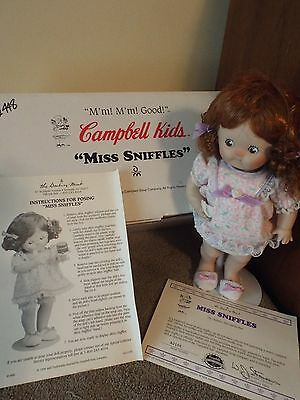 """Campbell Keds """"Miss Sniffles"""" Doll"""