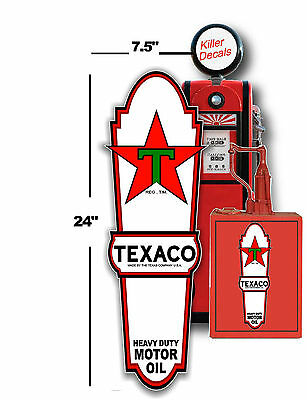 """PENN-2 4/"""" PENNZOIL OIL LUBSTER front DECAL GAS PUMP SIGN GASOLINE"""