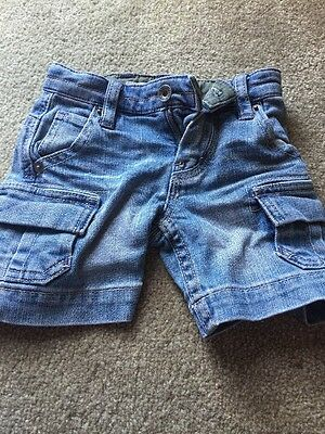 Country Road Denim Shorts 3-6 Months
