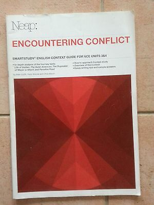Encountering Conflict. NEAP Smartstudy Guide. English VCE Un 3/4